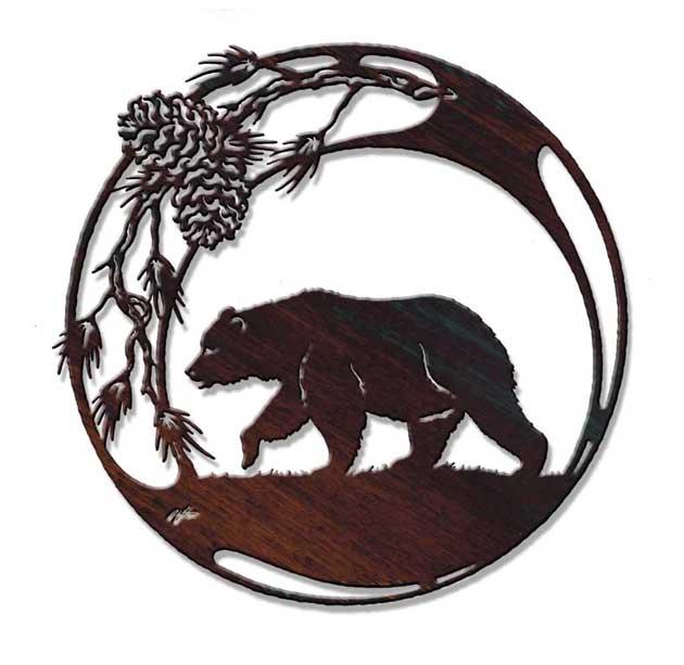 Wildlife Metal Art - Animal Wildlife